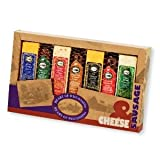 Heart of Wisconsin Cheese & Sausage Variety Pak - Perfect for Picnics