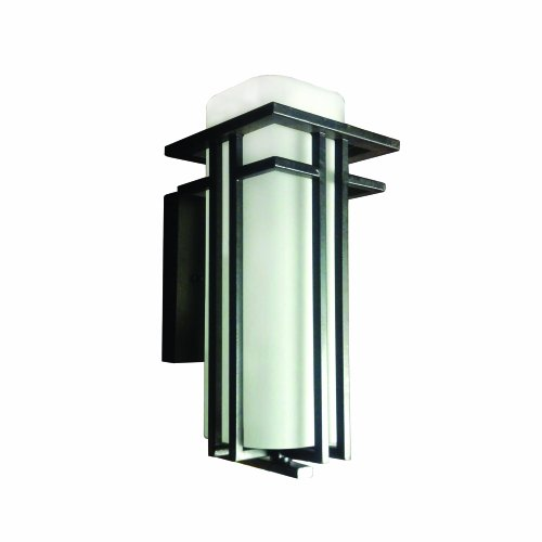 Yosemite Home Decor 5492orb M Frederick 1 Light Outdoor Wall Sconce With Frosted Glass Shade