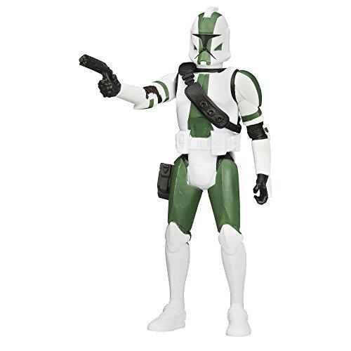 Star Wars Saga Legends Clone Commander Gree Figure