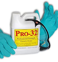 Pro-32 P-32 Professional Service Concentrate Cleaner, 32 oz.
