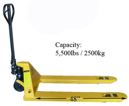 Heavy Duty 5500 LBS 27x48 Pallet Jack Lift 3
