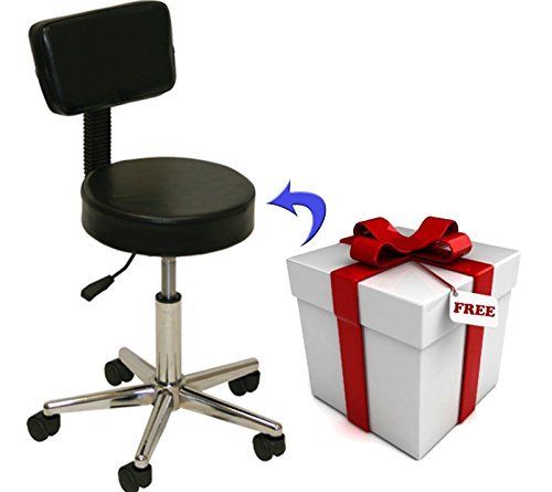 Black electric tattoo massage facial table bed chair for Salon equipment prices
