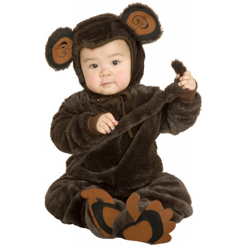 Plush Monkey Toddler Costume - 2T/4T Child (Toddler (2T-4T))