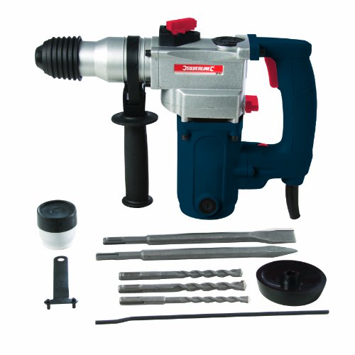 Silverline SDS Plus Hammer Drill 1500W 1500W