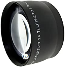 Optics 20x High Definition Telephoto Conversion Lens for Canon Powershot G15 Includes Lens Adapter