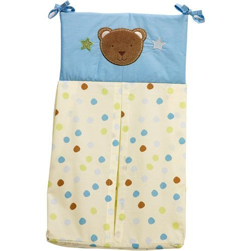 "Wishes & Kisses ""Beary Cute"" Baby Diaper Stacker"