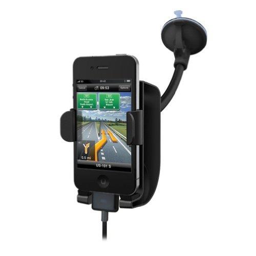 Kensington K39255US SoundWave Sound Amplifying Car Mount, iPhone 4 and iPhone 4S Compatible (Black)