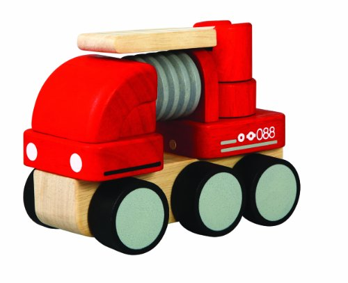 PlanToys Mini Fire Engine - 1