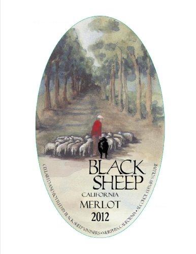 2011 Black Sheep Winery California Merlot 750 Ml