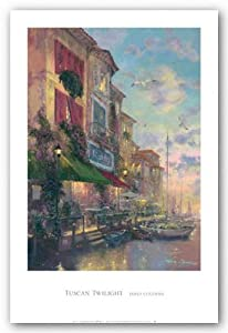 "Tuscan Twilight by James Coleman 24""x36"" Art Print Poster"