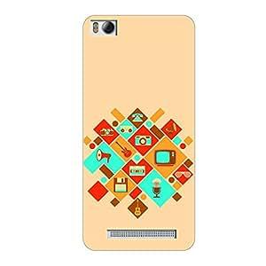 Vibhar printed case back cover for Xiaomi Mi 4i OldTimes
