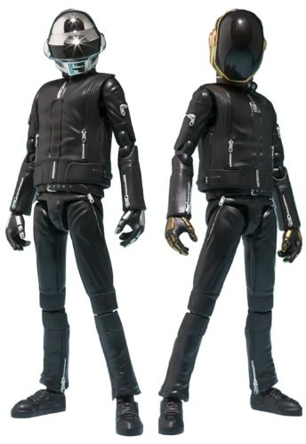 Daft Punk Bandai Tamashii Nations S.H. Figuarts Action Figure Set Of 2