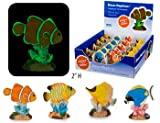 4 Deco-Replica Glow Fish Aquarium Ornaments