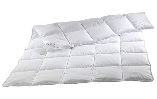 PROCAVE-MICRO-COMFORT-Qualitts-Bettdecke-fr-den-Sommer-Entspannt-schlafen-auf-hochwertiger-Microfaser-aus-100-Polyester-Atmungsaktive-Steppdecke-in-wei-in-200x220-cm-Soft-Komfort-Bettdecken-aus-Hohl-F