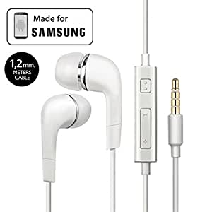 Samsung Galaxy A3 Compatible Earphone / Handsfree In Ear Headphones with 3.5mm jack - White