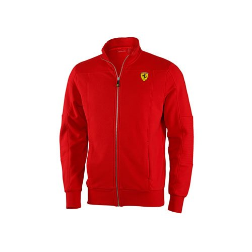 ferrari-sweat-zip-s-rouge