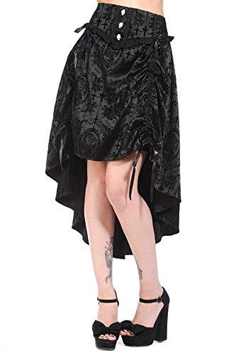 Banned-Black-Long-Gothic-Skirt
