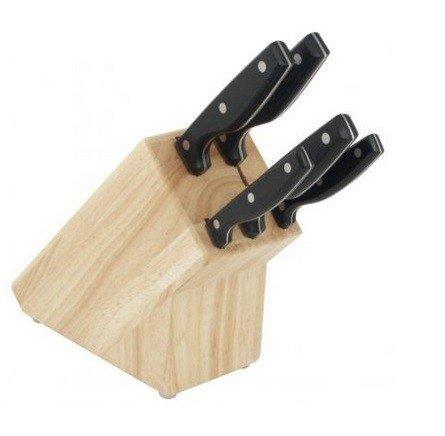 fissler messerblock sharp line edition 6teilig ebay. Black Bedroom Furniture Sets. Home Design Ideas