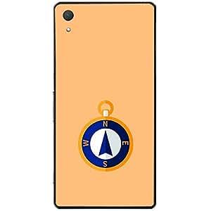 Skin4gadgets Designer Compass Colour - Khaki Phone Skin for XPERIA Z2 (L50w)