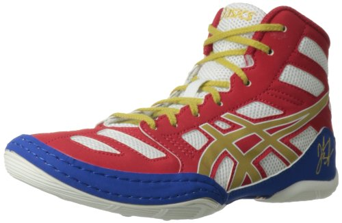 Asics Jb Elite Gs Shoe (Little Kid/Big Kid),True Red/Olympic Gold/White,6 M Us Big Kid