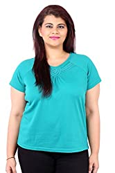Sea Green Raglan Sleeve T-Shirt_LITF802_14