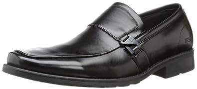 Kenneth Cole REACTION Men's A Bit Slick Slip-On Loafer,Black,7 M US