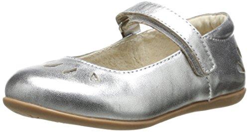 See Kai Run Elyana Mary Jane (Toddler/Little Kid),Silver,8.5 M Us Toddler front-577793