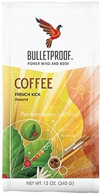 Bulletproof 'French Kick' Dark Roast Ground Coffee 340g by Bulletproof