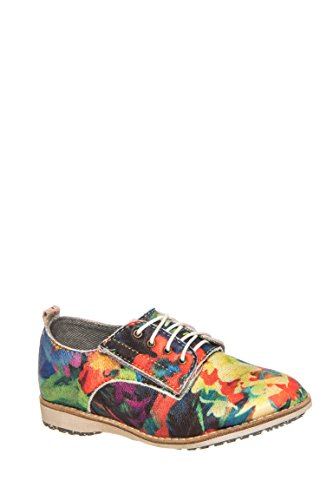 Girl's Derby Printed Oxford