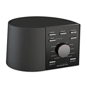 Ecotones Duet Sleep Sound Machine, Black