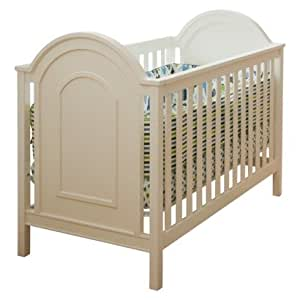 Lolly & Me Ellery 3-in-1 Convertible Crib white