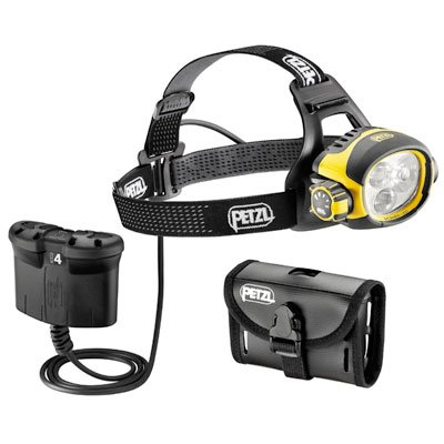 Petzl Ultra Vario Belt Headlamp Yellow / Black One Size front-639143
