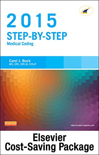 Medical Coding Online for Step-by-Step Medical Coding 2015 Edition (Access Code, Textbook and Workbook package), 1e
