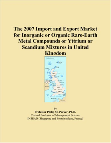 The 2007 Import and Export Market for Inorganic or Organic Rare-Earth Metal Compounds or Yttrium or Scandium Mixtures in United Kingdom