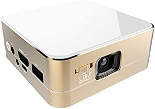 Rambo Mini Projector DLP Display Bluetooth Wifi wih Android 44 for Smart Phone via Airplay Miracast