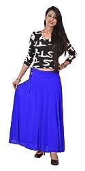 Ace Long Skirt- Royal blue