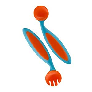 Boon Benders Adaptable Utensils Blue/Orange