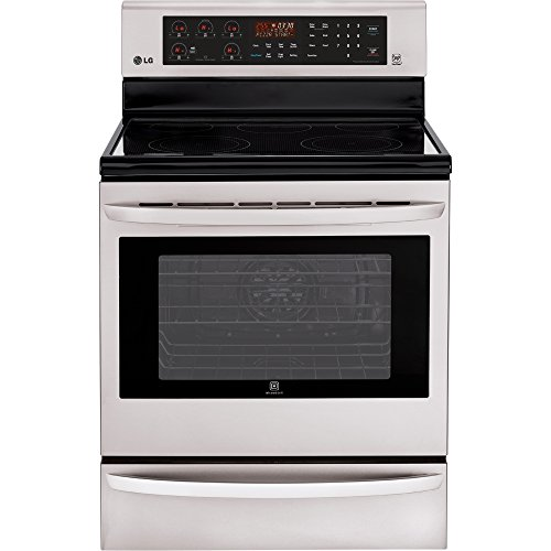 "LG LRE3085ST 30"" Stainless Steel Electric Smoothtop Range -"