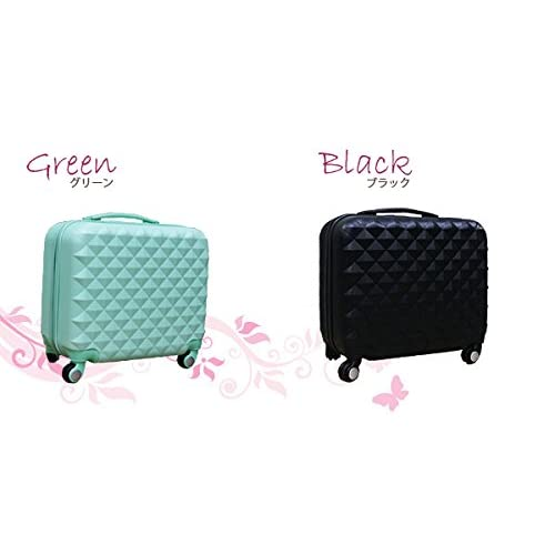 【DIAMOND・EMBOS】スーツケース Sサイズ 4輪/シャンパン色[cha10-05]超軽量 ロック付き キャリーバッグ かわいい