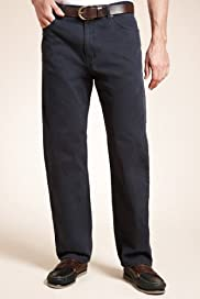 Straight Leg 5 Pocket Jeans [T17-5517M-S]