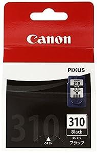 Canon キヤノン 純正 インクカートリッジ BC-310 ブラック BC-310
