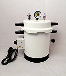 IndoSurgicals Dental Autoclave, Epoxy Finish, Electric, 10 Ltrs