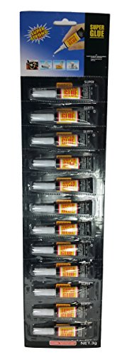 osaka-super-glue-3-gr-pack-of-12-for-wood-rubber-plastics-metal-paper-leather-cyanoacrylate-adhesive