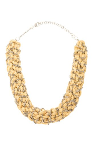 Orly Genger by Jaclyn Mayer, New York Rope Collar Necklace - Gold