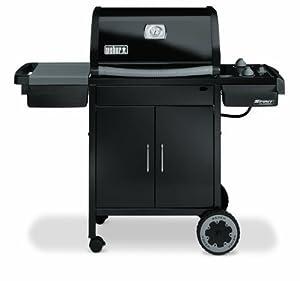 weber barbecue gaz spirit classic e 210 noir 2 bruleurs weber jardin. Black Bedroom Furniture Sets. Home Design Ideas