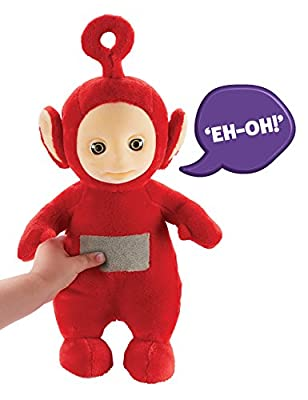 Teletubbies Talking Po Soft Toy (Red)