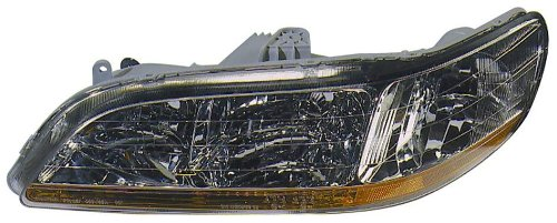 Depo 317-1114L-US Honda Accord Driver Side Replacement Headlight Unit without Bulb (1999 Honda Accord Headlights compare prices)