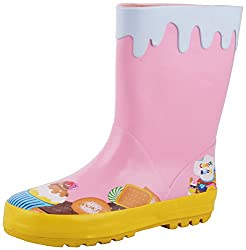 willywinkies Unisex Pink Rubber Boots - 30 EU
