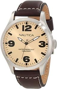 Nautica Men's N12624G BFD 102 Date Classic Analog Watch