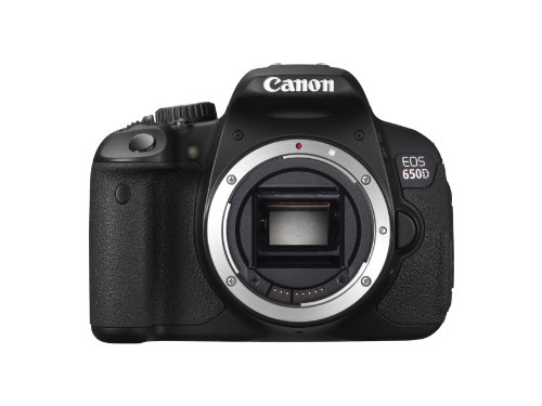 Canon EOS 650D Digital SLR Camera - Black (Body 